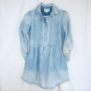 Denim & Supply Ralph Lauren Pintuck Tunic Top XS